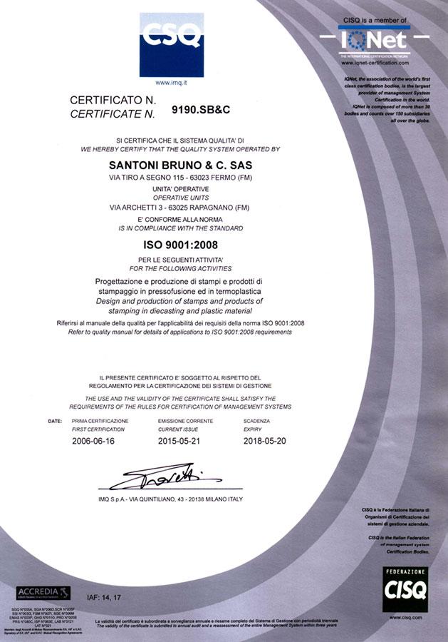 CSQ - ISO 9001:2008